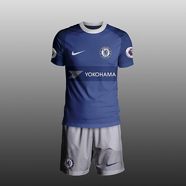 Chelsea Nike kit 2017/18 Home concept