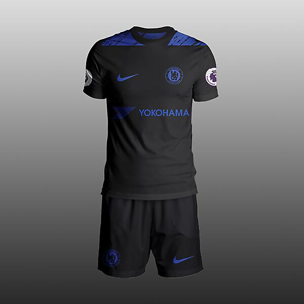 Chelsea Nike kit 2017/18 Third concept
