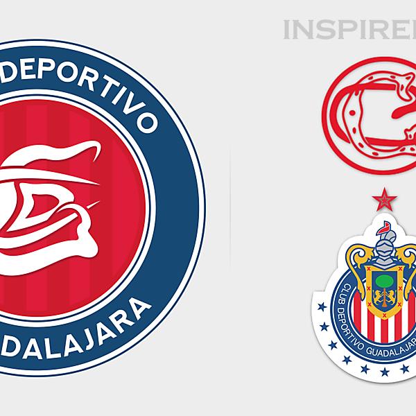 CD Guadalajara Crest Redesign