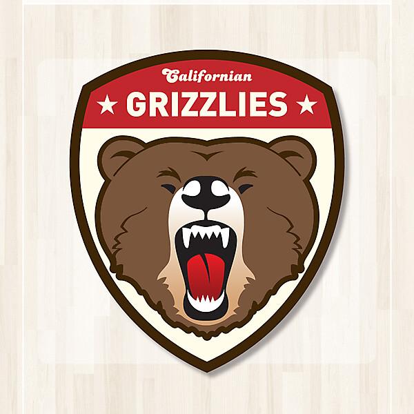 Californian Grizzlies Crest