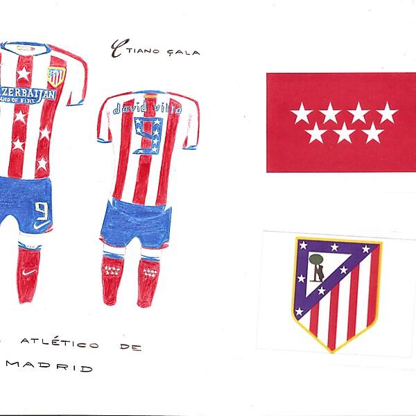 Club Atletico de Madrid - Madrid Home Kit