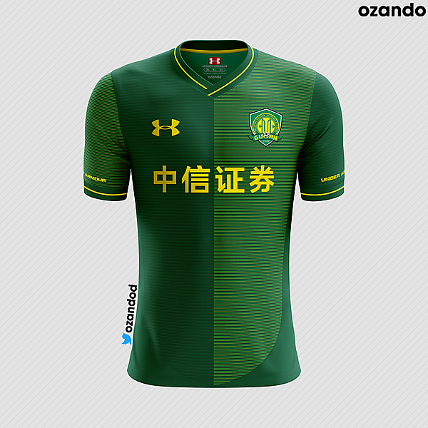 Beijing Guoan x Under Armour | Home