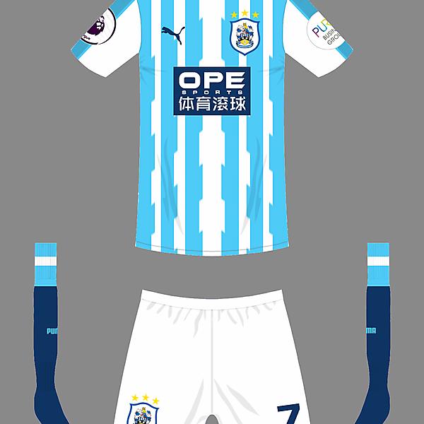 Huddersfield Town home kit