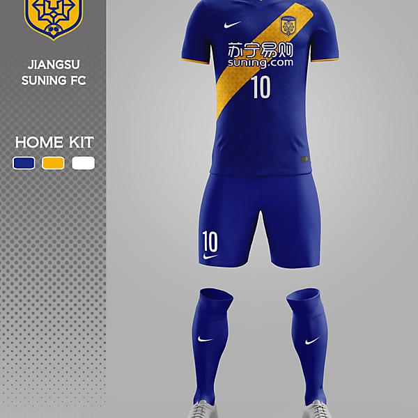 JIANGSU SUNIN FC - HOME KIT