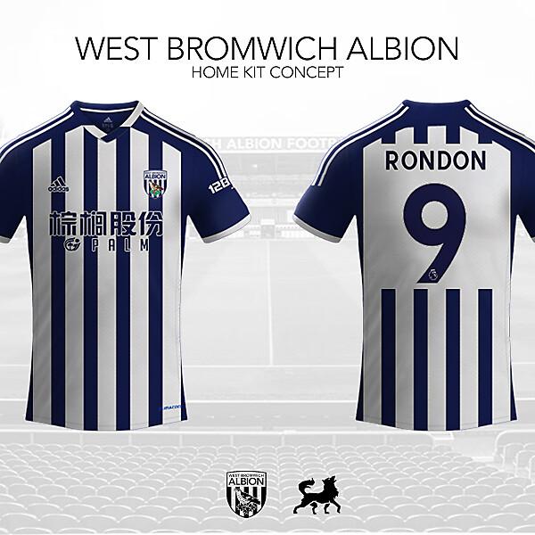 West Brom Home Shirt | Futwolf