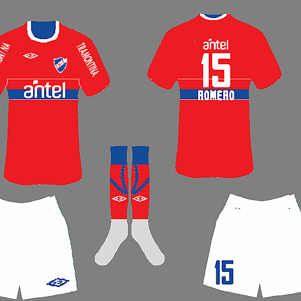 Club Nacional de Football Fantasy Away Kit by Skiboy700