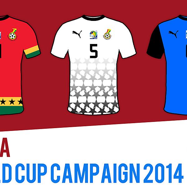 Ghana's World Cup 2014