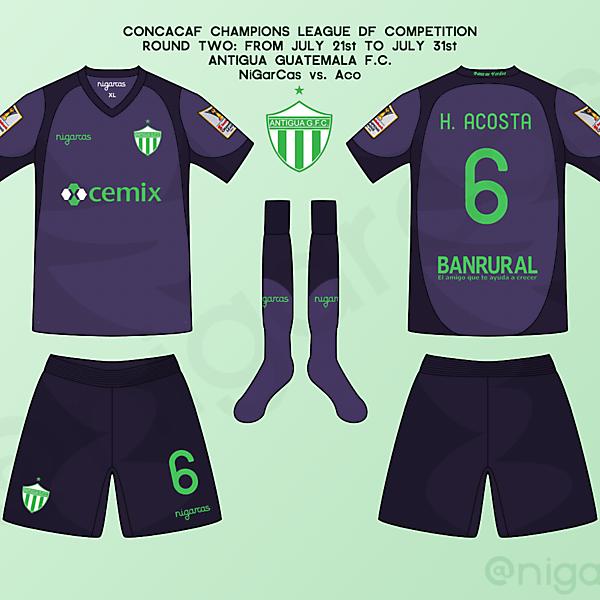 Antigua G.F.C - Away kit