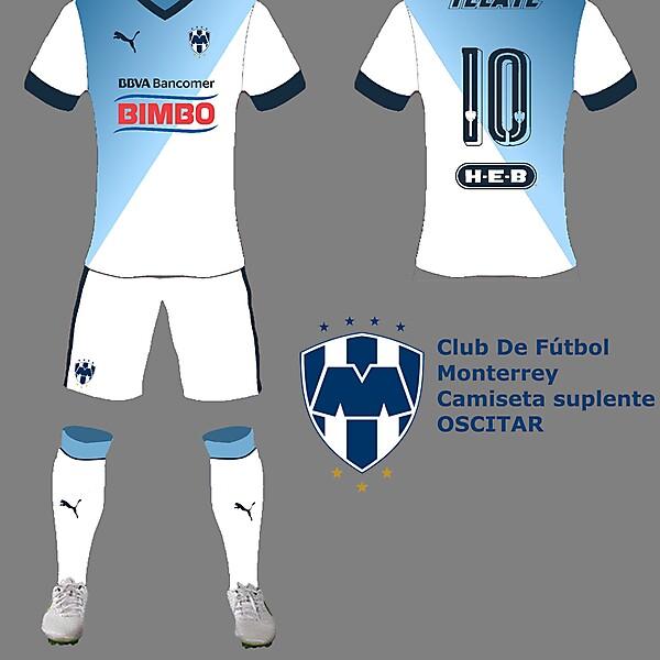 Camiseta suplente Monterrey