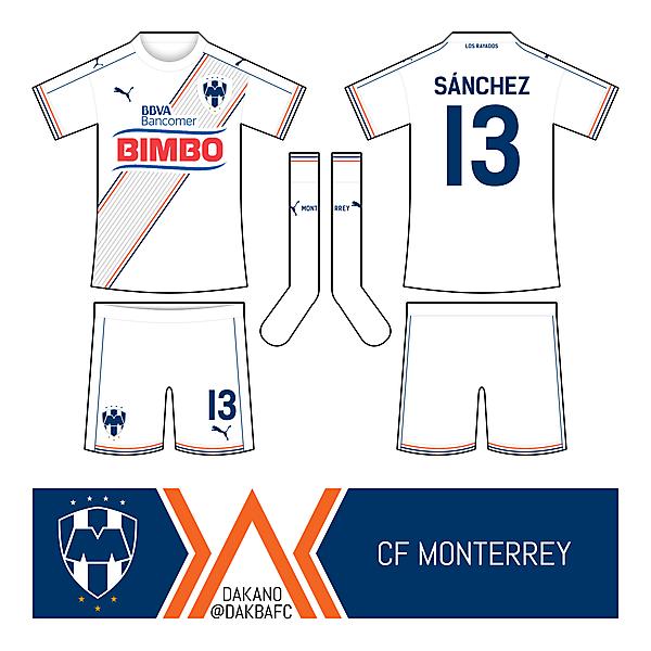 CF Monterrey Away