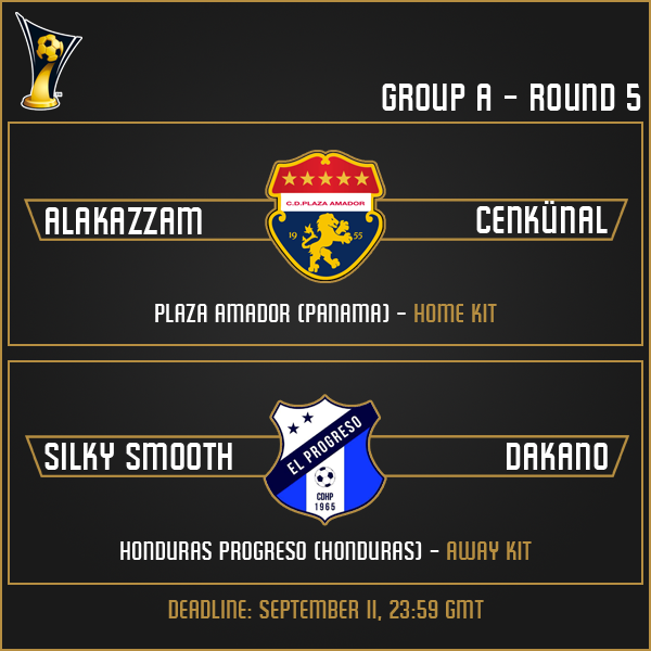 Group A - Week 5 Matches