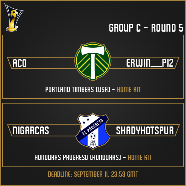 Group C - Week 5 Matches