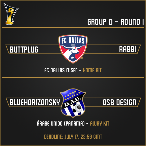 Group D - Round 1 Matches