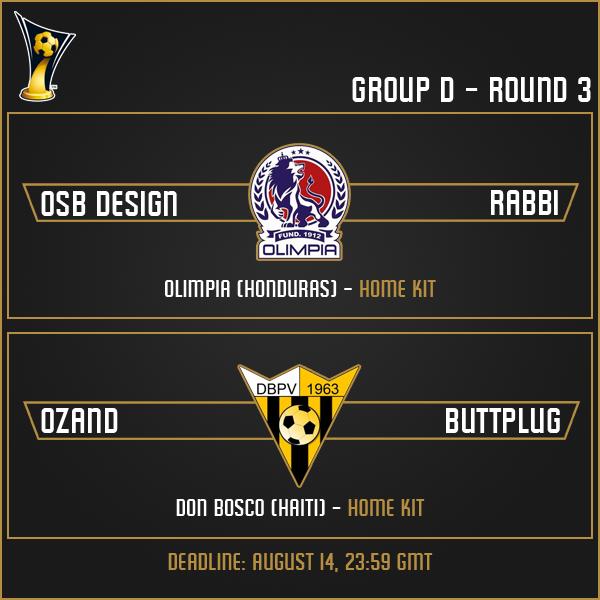 Group D - Week 3 Matches