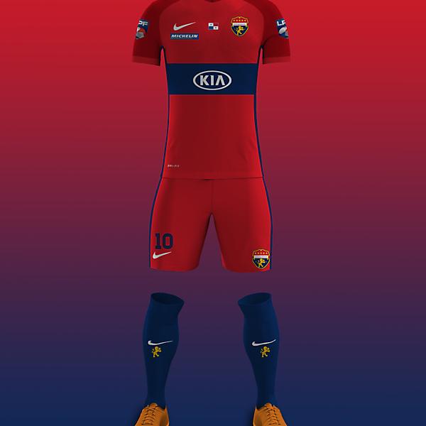 Plaza Amador - Away kit