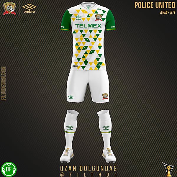 Police United Away Kit
