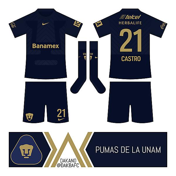 Pumas UNAM Away