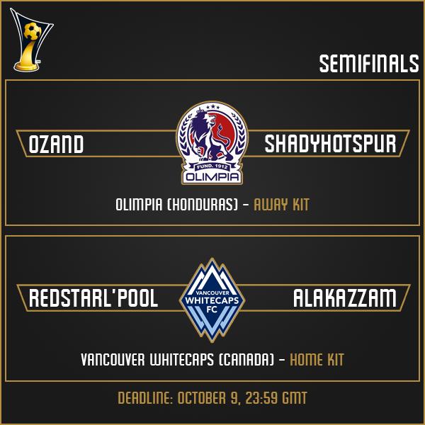 Semifinals Matches