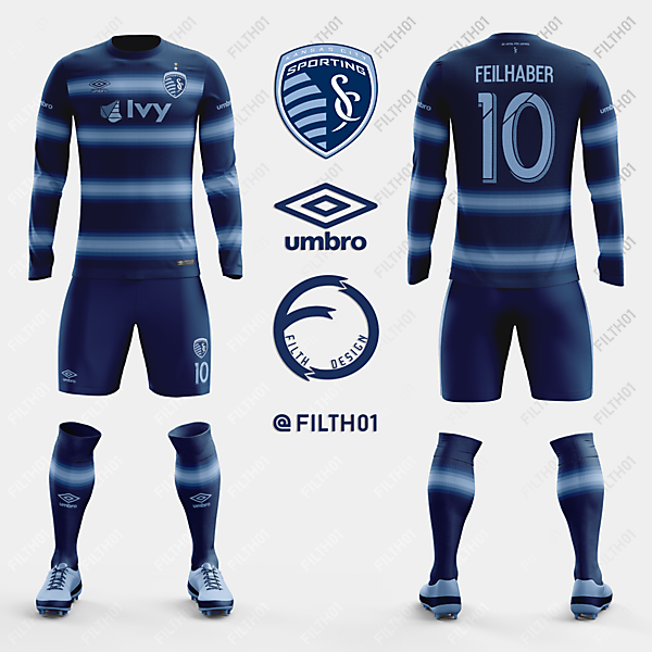 Sporting Kansas x Umbro | Away Kit