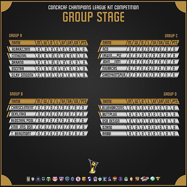 Tournament Groups