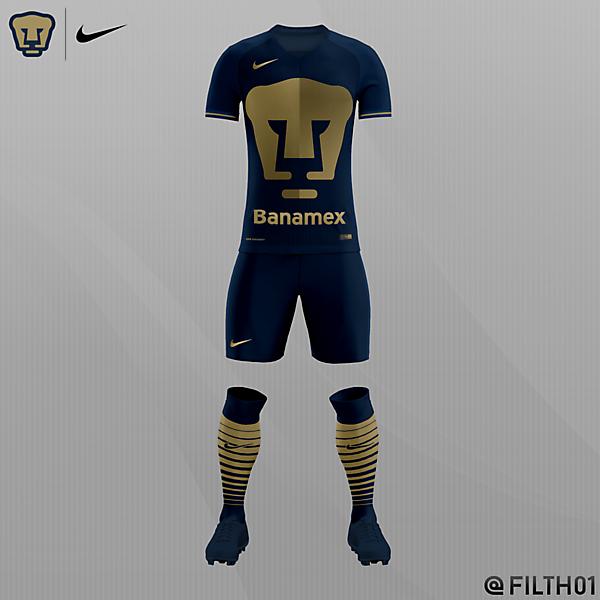 UNAM Pumas Home Kit