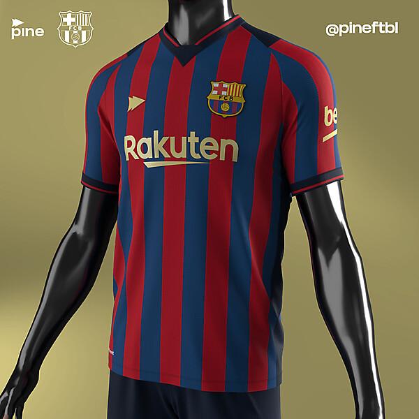 FC Barcelona Home x Pine