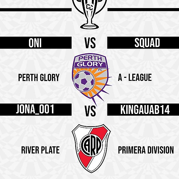 Group C Matchweek 1 Fixtures
