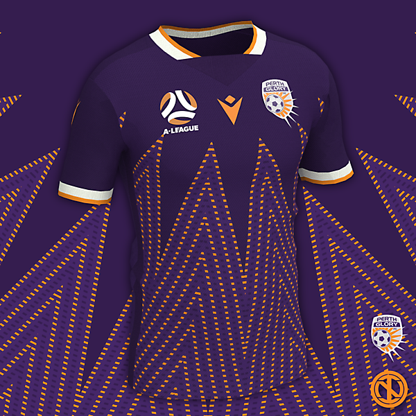 Perth Glory   Home Kit Concept