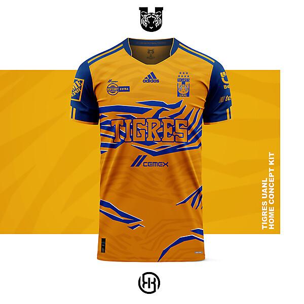 Tigres UANL   Home kit concept