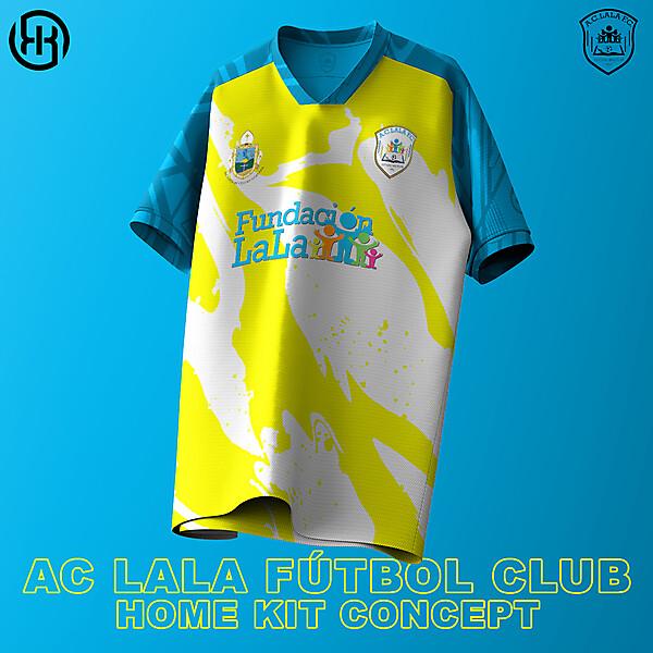 AC Lala FC   Home kit concept