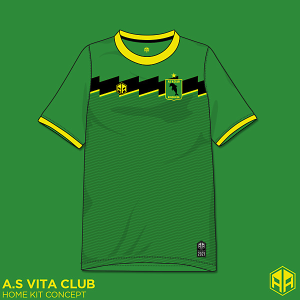 A.S Vita Club home kit concept