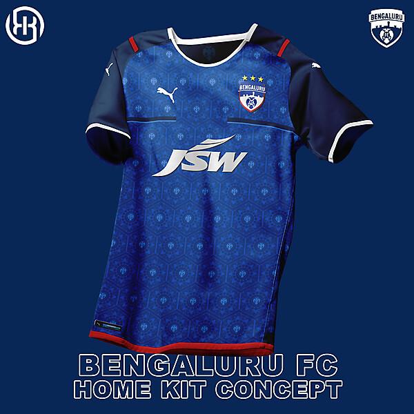 Bengaluru  FC   Home kit concept