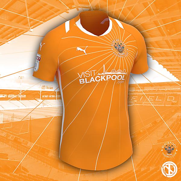 Blackpool FC | Home Kit Concept