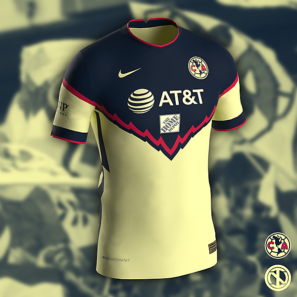 Club América   Home Kit Concept