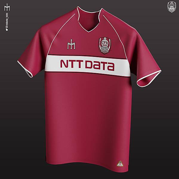 Fotbal Club CFR 1907 Cluj X TRIDENTE | Home kit