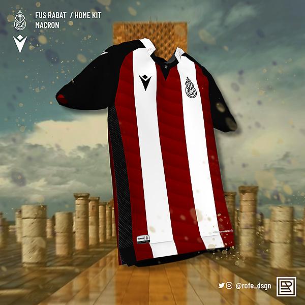 FUS Rabat Home Kit x Macron | @rofe_dsgn
