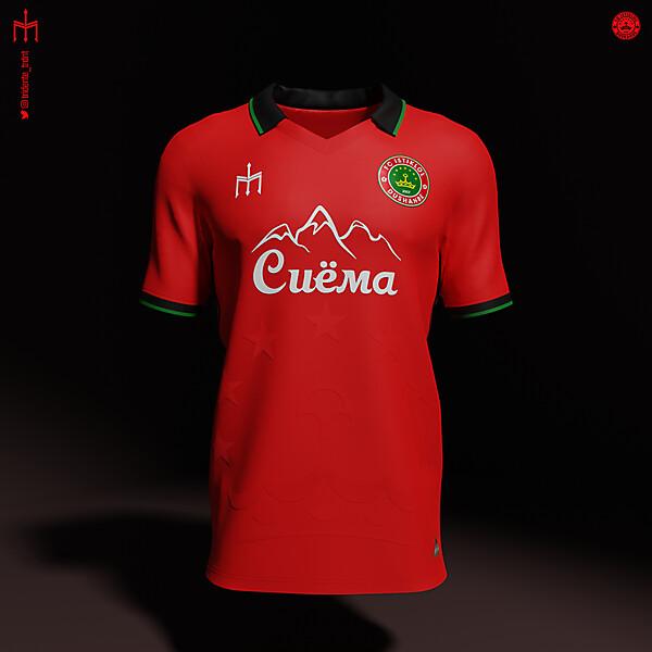 Futbol'nyj Klub Istiklol X TRIDENTE   Home kit