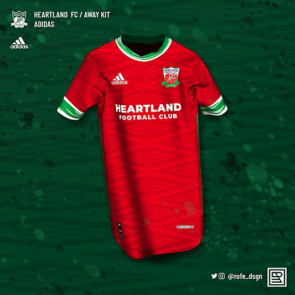 Heartland FC Home Kit x Adidas | @rofe_dsgn