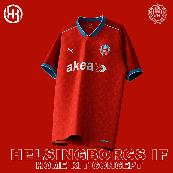 Helsingborgs IF   Home kit concept