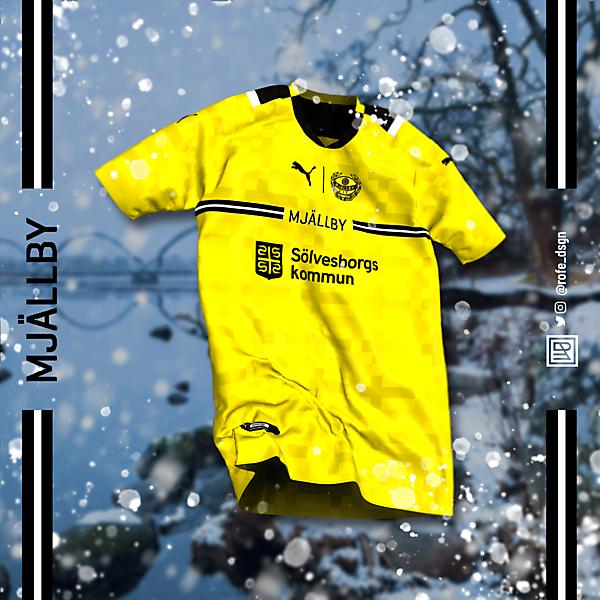 Mjällby AIF Home Kit x Puma | @rofe_dsgn