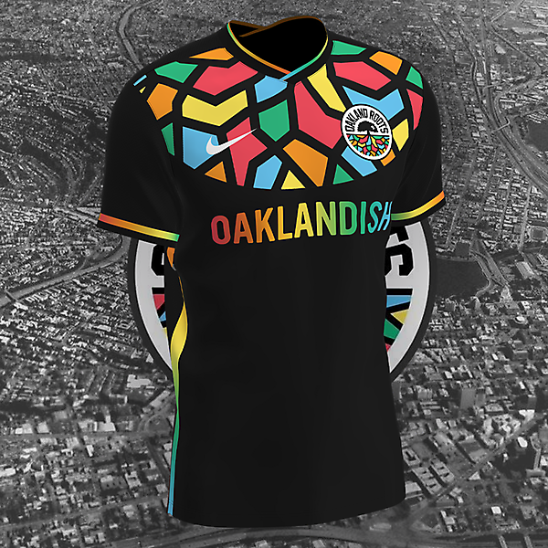 Oakland Roots X Nike Home Kit