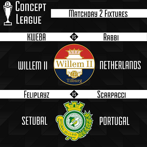 Premier League/Second League Matchday 2 Fixtures