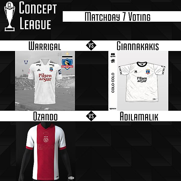Premier League/Second League Matchday 7 Voting