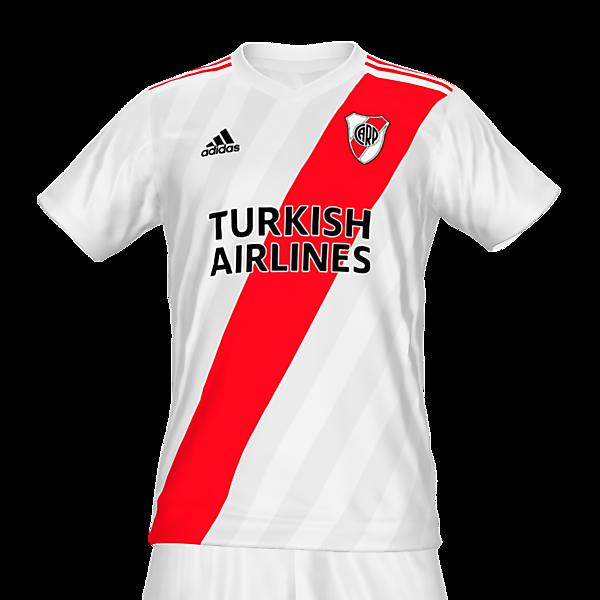 River Plate home kit by @feliplayzz