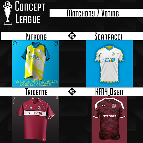 Second League Matchday 7 Voting