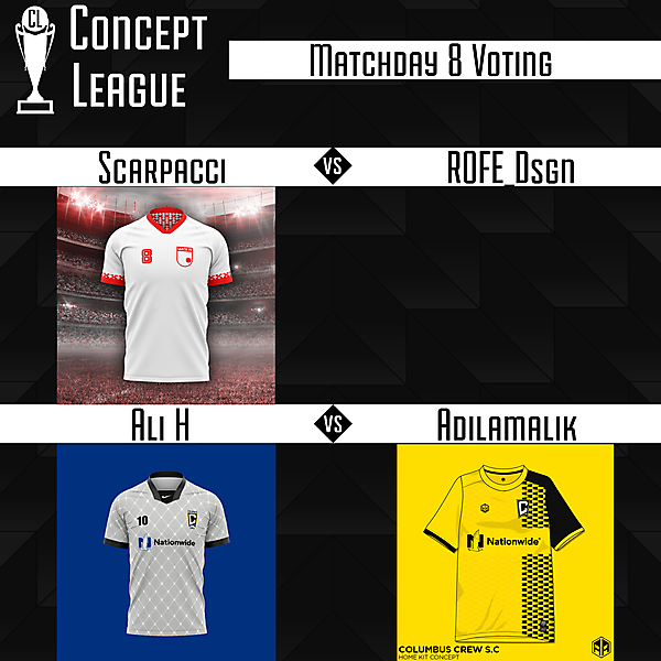 Second League Matchday 8 Voting