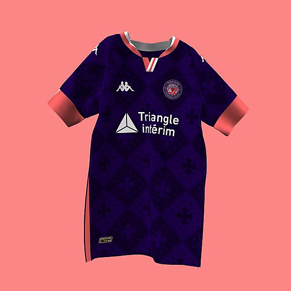 Tolouse FC x Kappa | La Ville Rose Concept |@rofe_dsgn