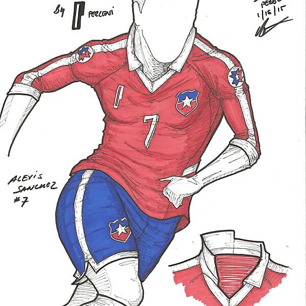 Copa America 2015 - Final - Chile - by Perceni