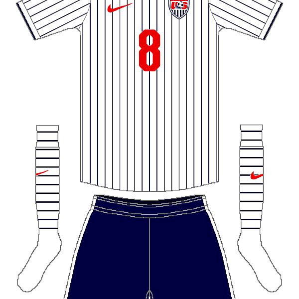 USA Nike Home Kit