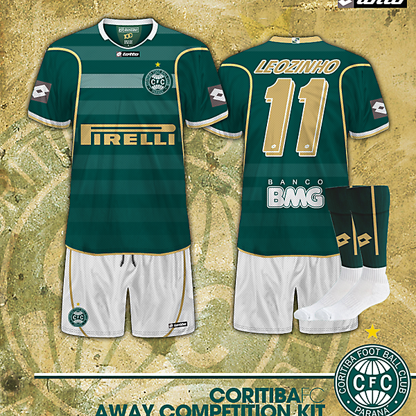 Coritiba FC Away kit